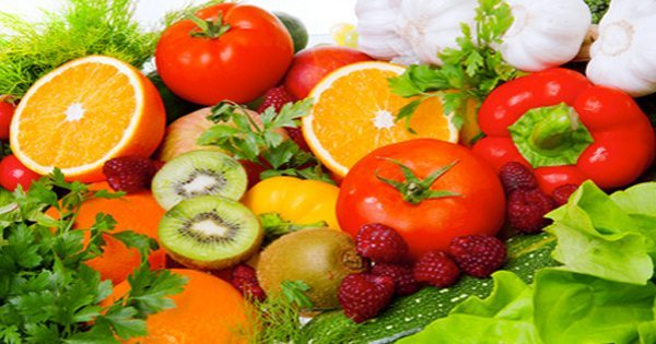 blog picture of vegetables and fruits beautifully arranged
