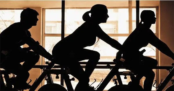 blog picture of spin class