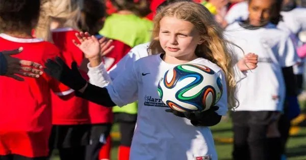 blog picture of young girl soccer player