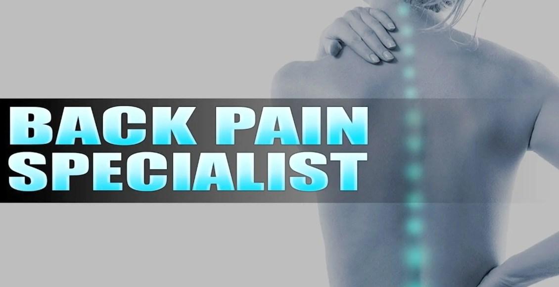 back pain specialist el paso tx.