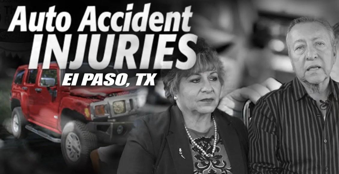 auto accident injuries el paso tx.