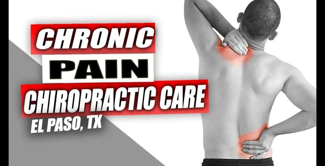 11860 Vista Del Sol *CHRONIC PAIN* Chiropractic Care | El Paso, Tx