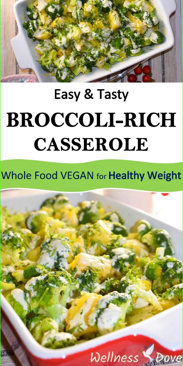 Easy & Tasty Broccoli-rich Casserole | Whole Food Vegan