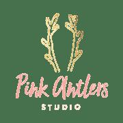 pink antlers logo