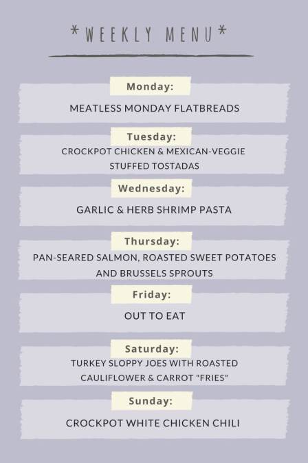 how to make a healthy meal plan wellness for the win