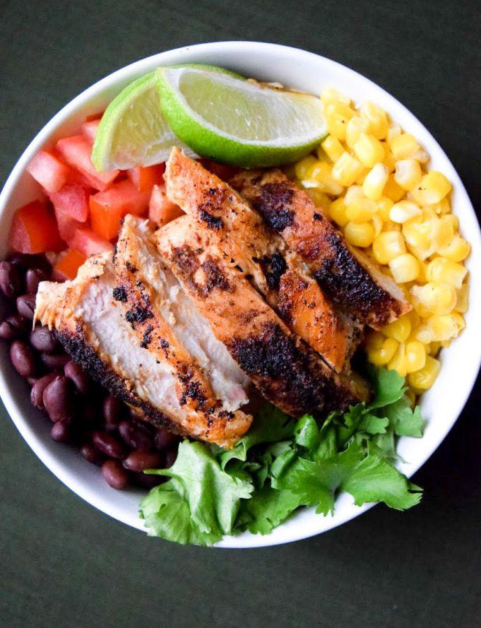 Mexican Quinoa Protein Bowl
