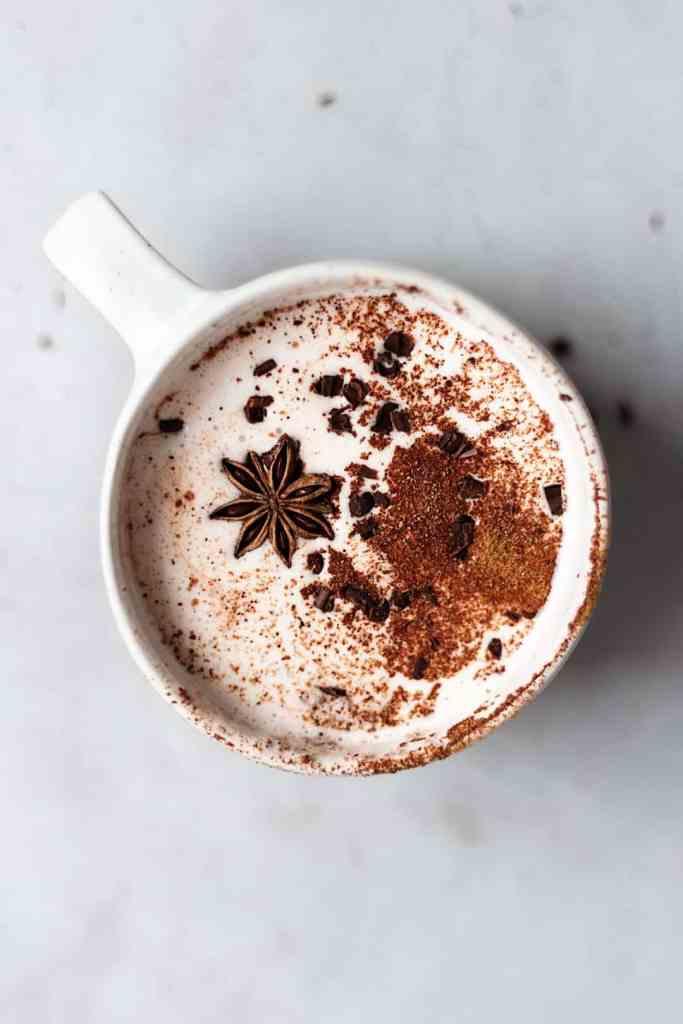 vegan chai hot chocolate recipe