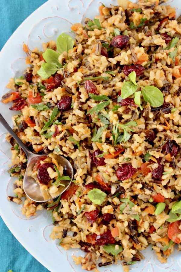 Thanksgiving wild rice easy Thanksgiving side dishes
