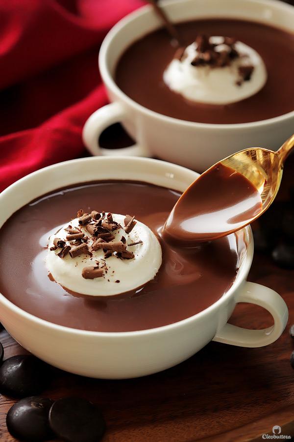 rich italian hot chocolate recipe