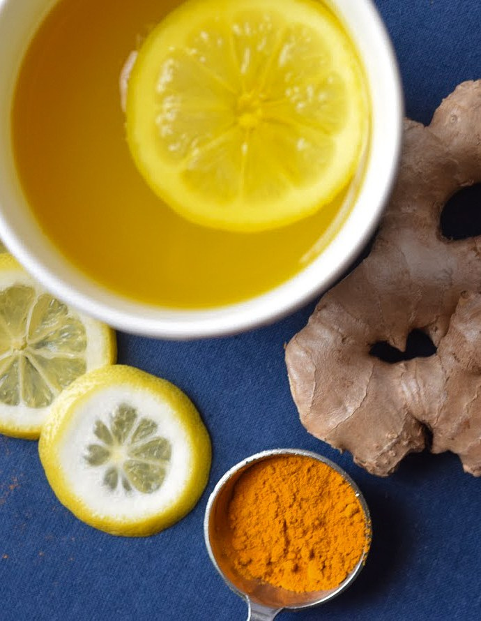 Ginger Lemon Turmeric Tea