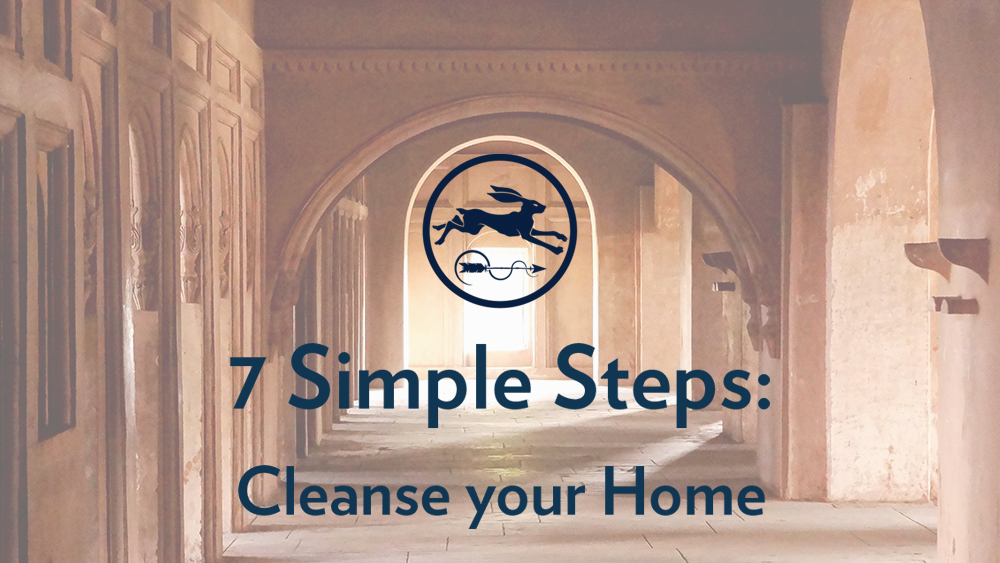 how to cleanse your home