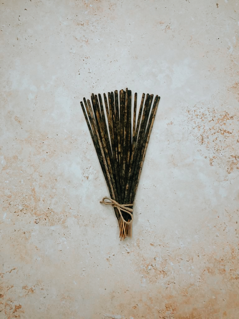 incense cleansing ritual