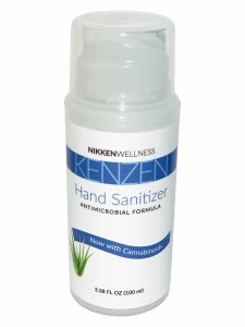 Hand Sanitizer with CBD and CBG oils, Vitamin E and organic Aloe Vera 4