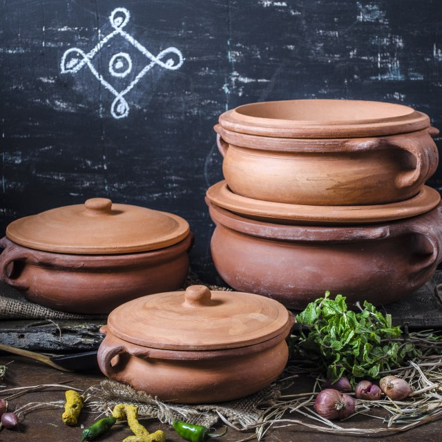 Mud Pots for Cooking