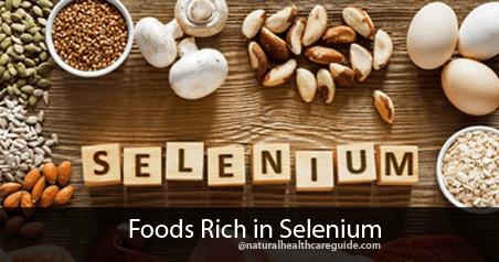 Foods Rich in Selenium