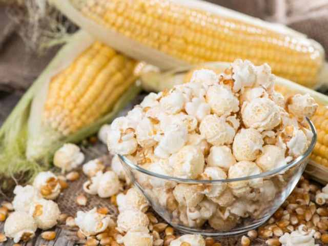 plain, natural popcorn is full of health benefits