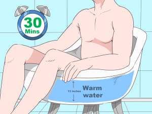 Hip Bath Hydrotherapy