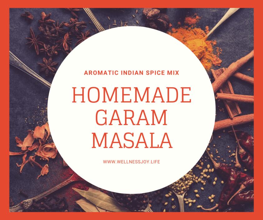Authentic Indian Spice Blend Garam Masala