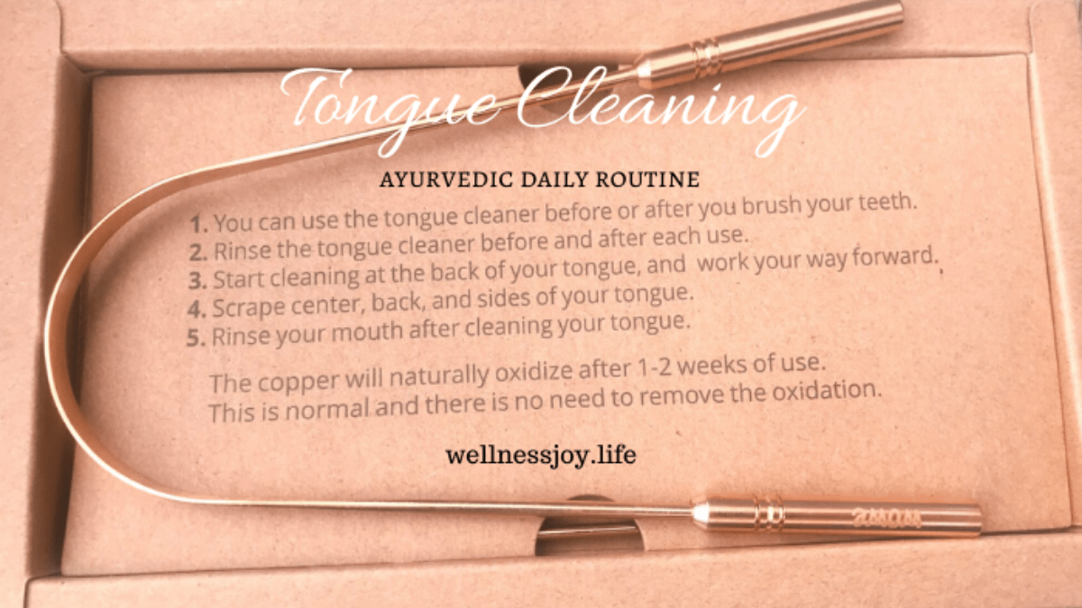 Tongue Cleaning- An Ayurvedic Daily Routine