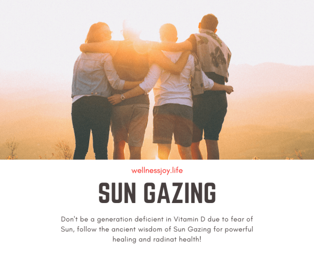 Sun Gazing is an Ancient Science