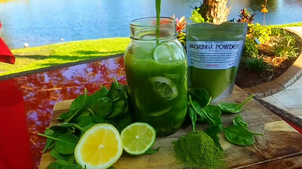 Moringa Lemonade Detox