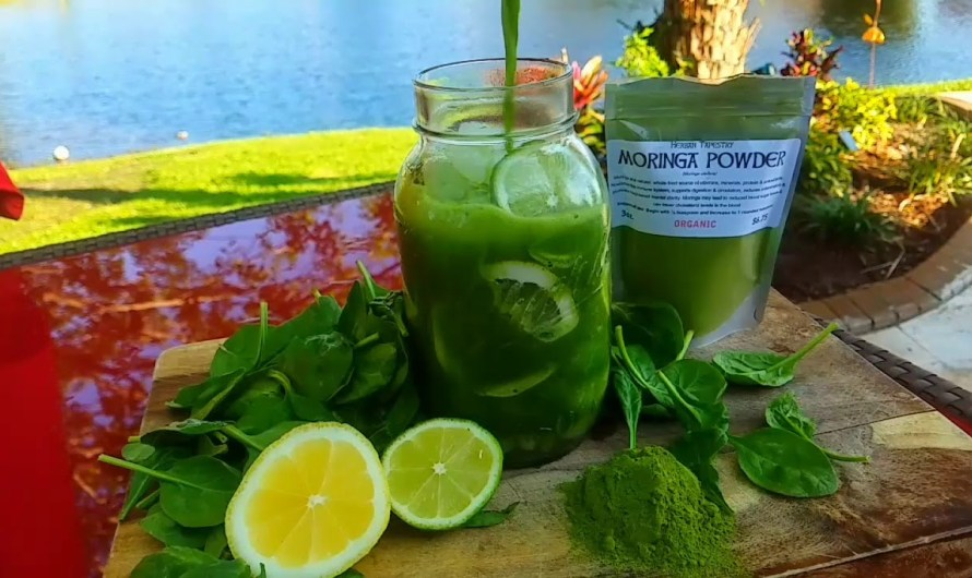 Moringa Lemonade Detox-A Refreshing Morning