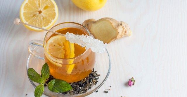 Green Tea with Ginger Lemon Honey to burn fat fast