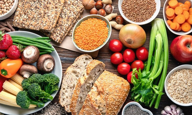Eating Fibre to Lose Weight with Plant Diet