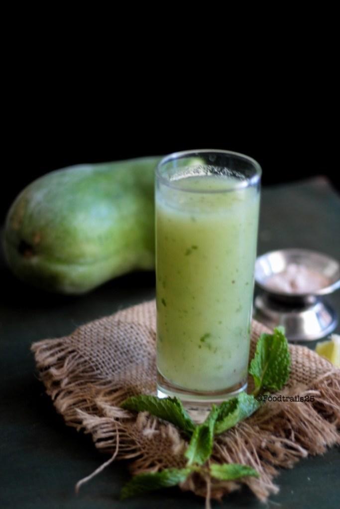 Ash Gourd Juice Recipe