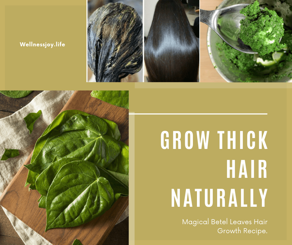 Grow Thick Hair Naturally