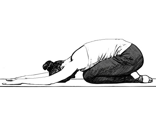 Balasana (childs pose)-Yoga Poses to Boost Fertility