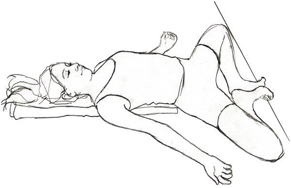 Supta Baddha Konasana- Yoga Poses to Boost Fertility