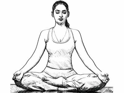 Lotus Pose, or Padmasana- Yoga Poses to Boost Fertility