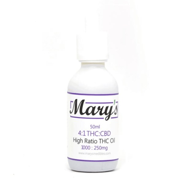 Wellness Lifestyle Mary's 4:1 Blended Tincture
