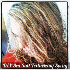 DIY Sea Salt Texturizing Spray Recipe DIY Beach Waves Hair Spray