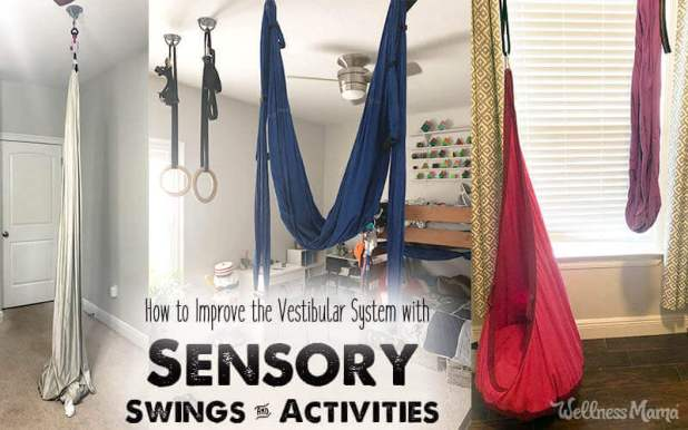 How to Improve the Vestibular System with Sensory Swings Activities