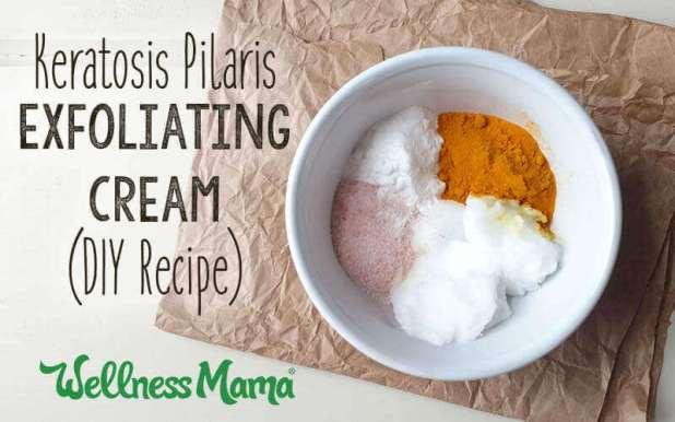 Keratosis Pilaris Exfoliating Cream-DIY Recipe