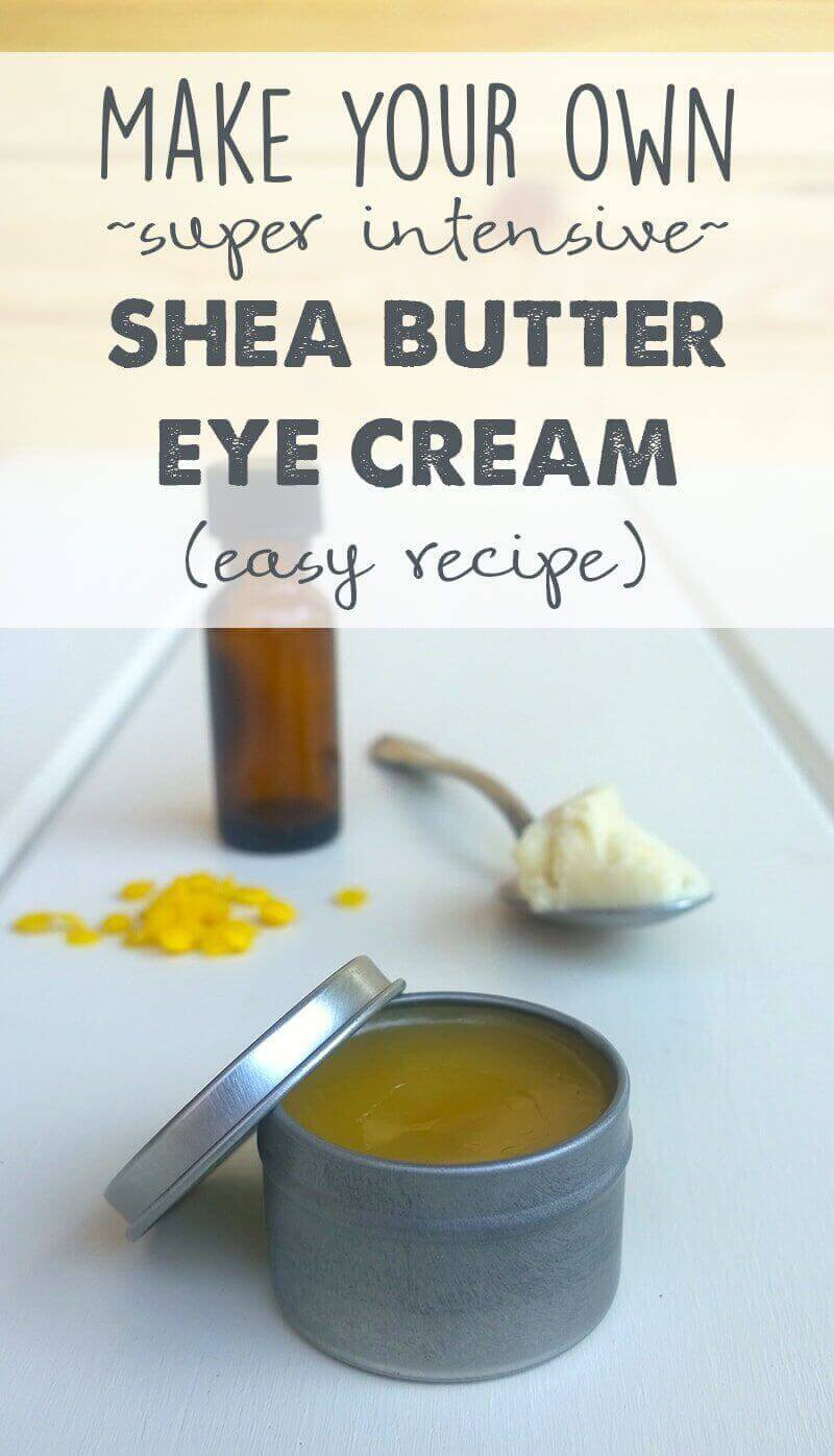 Crea la tua lussuosa crema per gli occhi con questa ricetta completamente naturale. Molte costose creme per gli occhi contengono ingredienti che non funzionano nemmeno! Fai da te invece!
