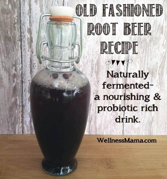 Old Fashioned Root Beer Recipe Nourishing and healthy Homemade Root Beer