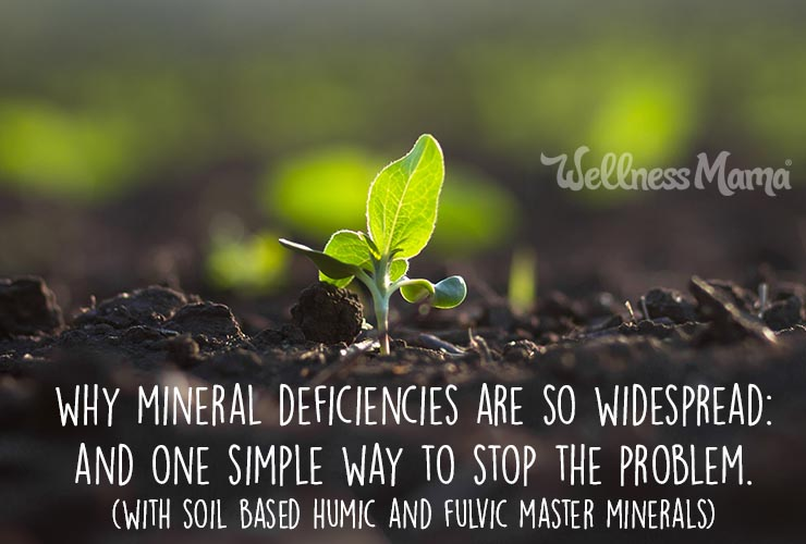 Why mineral deficiencies are so widespread and one way to fix the problem with humic and fulvic
