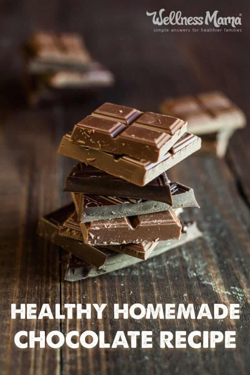 Healthy Homemade Chocolate Recipe Wellness Mama