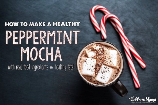 A healthy peppermint mocha recipe!