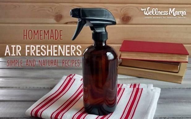 Homemade natural diy air freshener