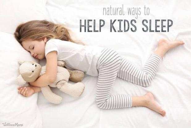 help a child go to sleep