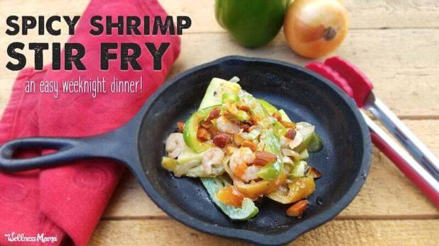 spicy shrimp stir fry gluten free