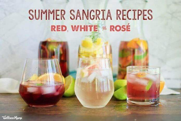 how to make sangria with red or white wine
