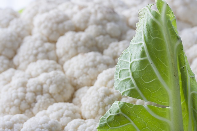 cauliflower leaves 1