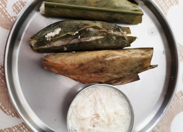 HaldiPitha or EnduriPitha -an odia recipe