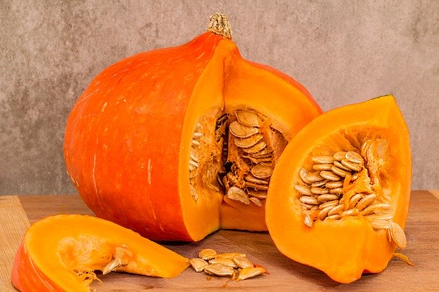 Food for immunity- vitamin A rich pumpkin is a good choice