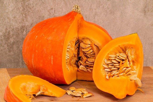 Food for immunity- vitamin A rich pumpkin is a good choice